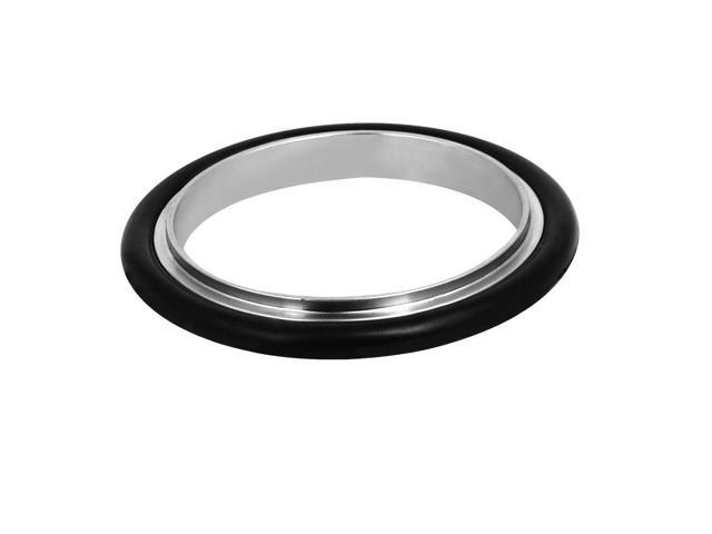 KF50 304 Stainless Steel Vacuum Fittings Flange Centric Centering Ring O-Ring