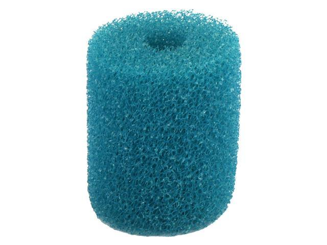 Aquarium Fish Tank Round Shaped Filtration Entrance Water Filter Sponge Teal