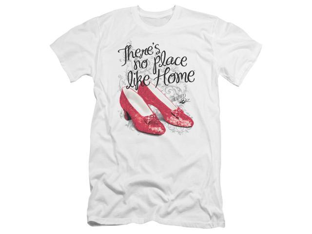 Wizard Of Oz Ruby Slippers Mens Premium Slim Fit Shirt