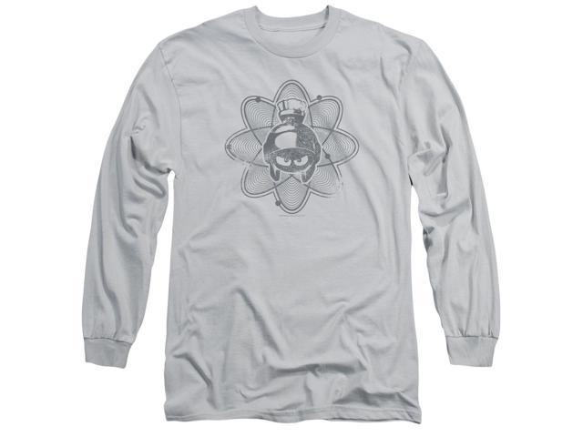 Looney Tunes Mean Marvin Mens Long Sleeve Shirt