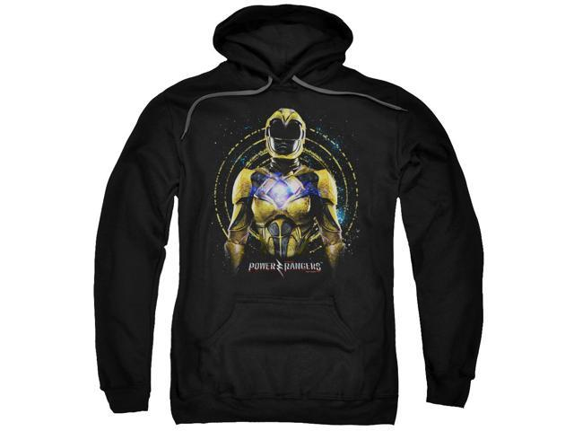Power Rangers Yellow Ranger Mens Pullover Hoodie