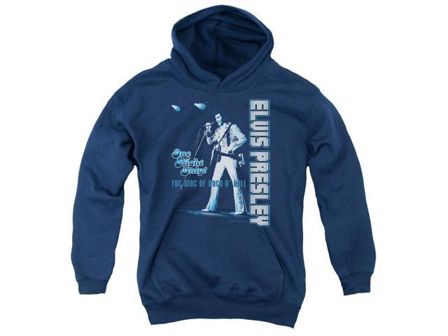 Elvis Presley One Night Only Big Boys Pullover Hoodie