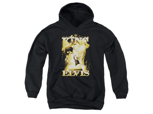 Elvis Presley The King Big Boys Pullover Hoodie