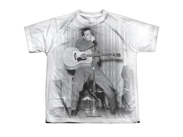 Elvis Presley On Your Toes Big Boys Sublimation Shirt