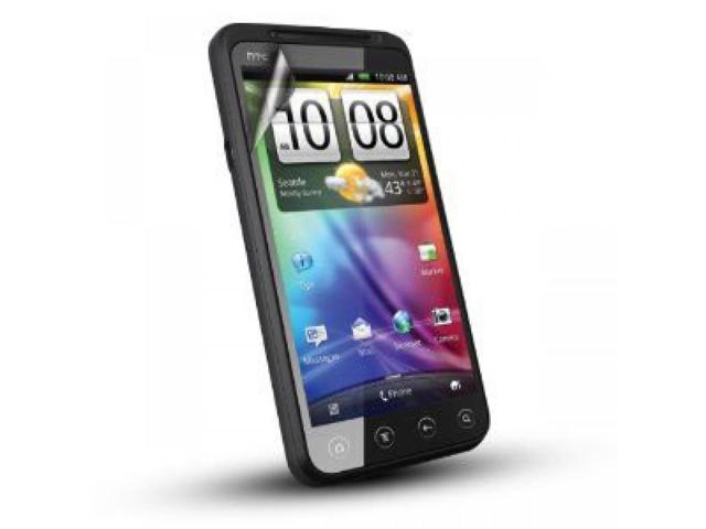 Aftermarket Anti-Glare Screen Protector For HTC Evo 3D HTCEVO3DASP