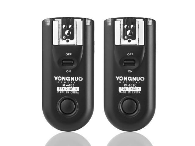 Yongnuo RF-603 N1 Wireless Remote Flash Trigger + N1 cable for shuttle release function for Nikon D300 D200 D3X D3 LF240-NE1