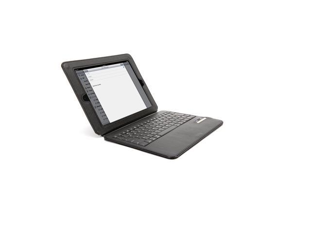 Griffin Black Slim Keyboard Folio for iPad 2, 3, and (4th gen.)   Bluetooth keyboard and protective folio in one
