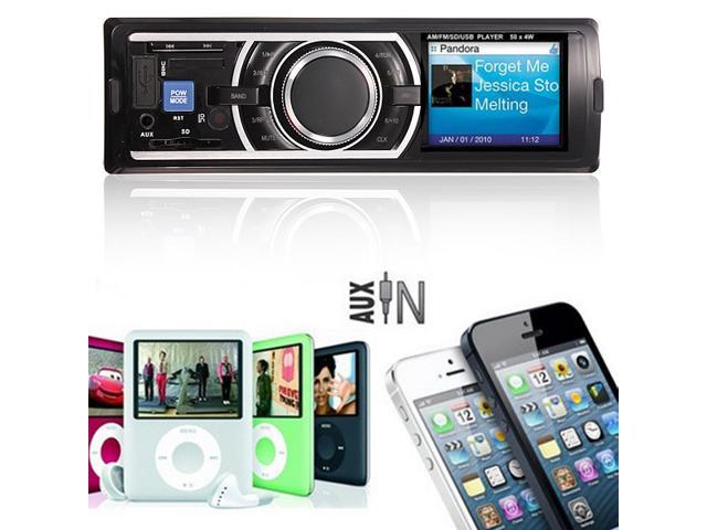 Five Star Inc Car Audio Stereo In Dash Fm Receiver With Mp3 Player & USB SD Input AUX Receiver