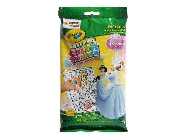Crayola Color Wonder Mini Coloring Pages Disney Princess 75 1300