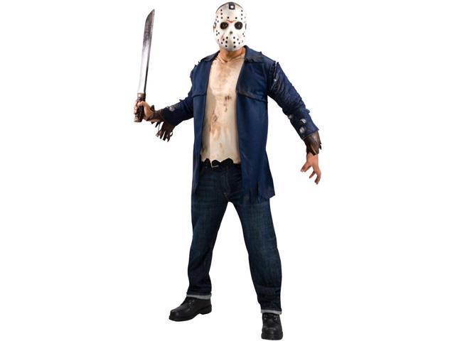 Adult Deluxe Friday the 13th Jason Costume Rubies 889071