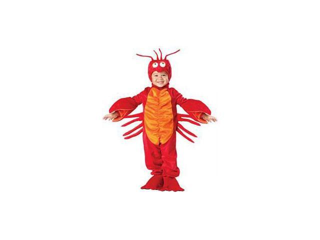 Lil' Lobster Costume Toddler Small 3T