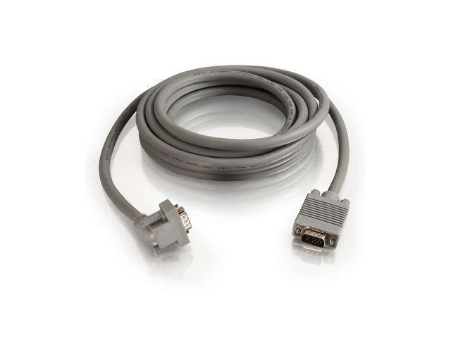 15ft HD15 M/M w/90degree Dwn Monitor Cbl
