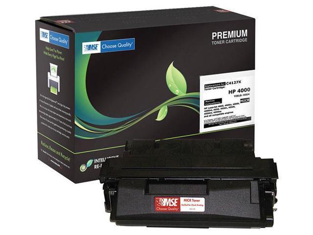 MSE 02-21-2717 Toner Cartridge (OEM # HP C4127X,27X) 10,000 Page Yield; Black