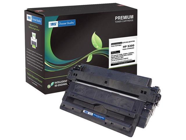 MSE 02-21-1614 Toner Cartridge (OEM # HP Q7516A,16A) 15,000 Page Yield; Black