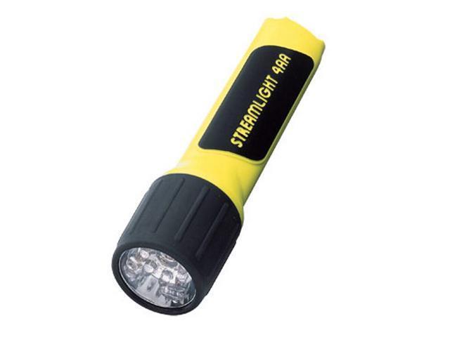68202 4AA LED ProPolymer Alkaline Battery-Powered Flashlight (Yellow)