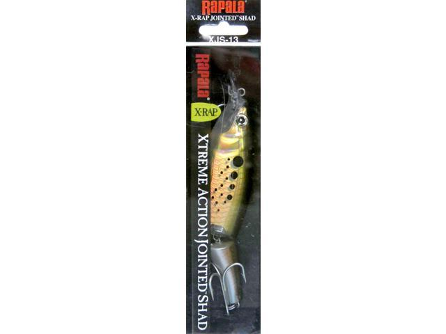 Rapala XJS13BNK X-Rap Jointed Shad Size 13 Bunker Fishing Hard Bait