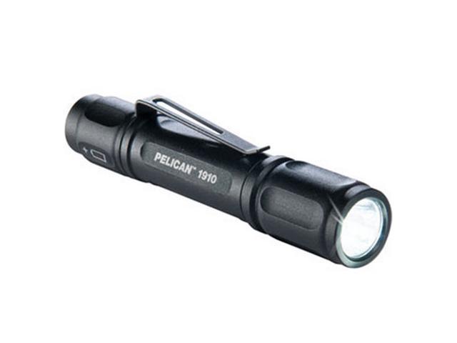 Pelican 1910-000-110 1910 Black LED 1AAA Ultra Compact Aluminum Flashlight