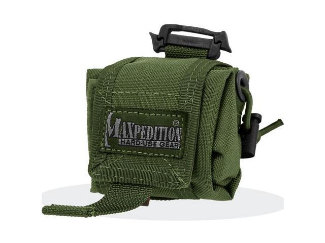 Maxpedition 0207G Mini Rollypoly Folding Dump Pouch Green