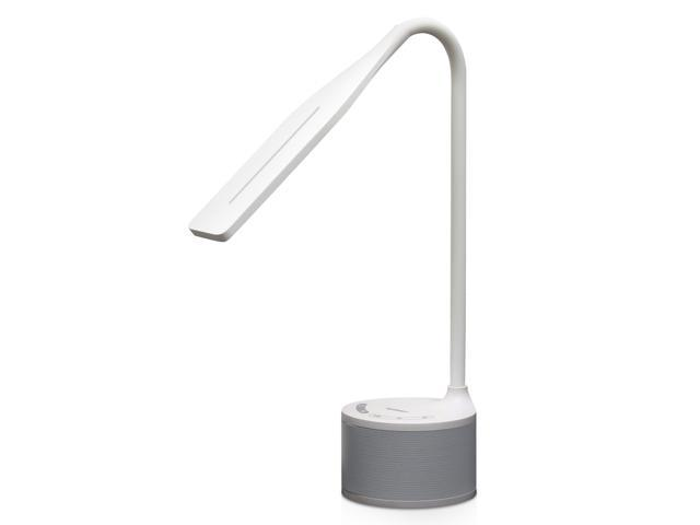 Tenergy harmony led desk lamp with built in bluetooth speaker adjustable brightness 3