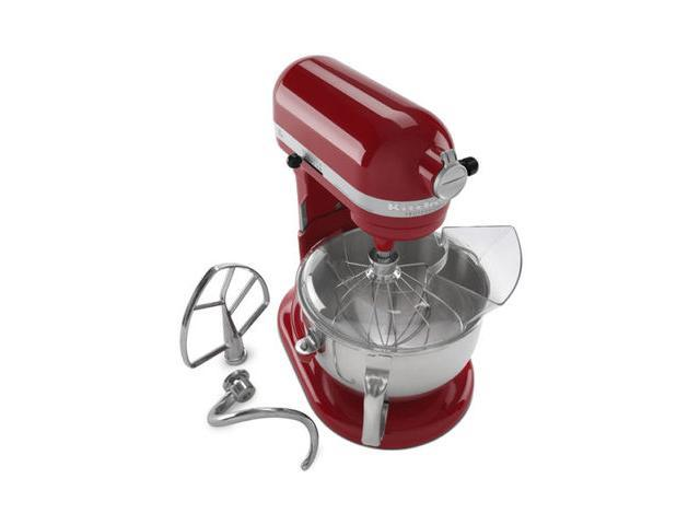 Kitchenaid Pro 600 Rksm6573er Stand Mixer 10 Sd Empire Red Professional Heavy Duty Refurbished