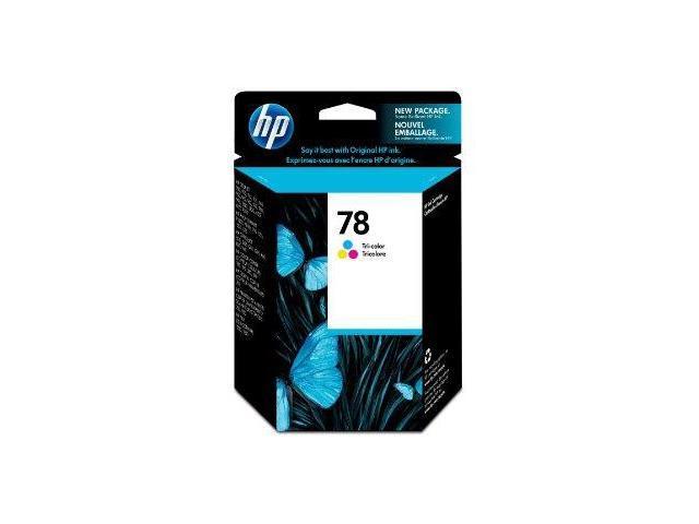 HP HP 78 (C6578DN) Printer - Ink Cartridges                                     Cyan Magenta Yellow