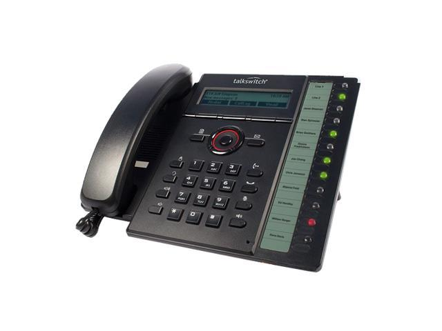 Fortinet FortiFone-460i / FON-460i VOIP SIP Phone, 10/100/1000 Lan, 10/100/1000 PC, PoE, with Power Adapter, 10 up to 34 ...