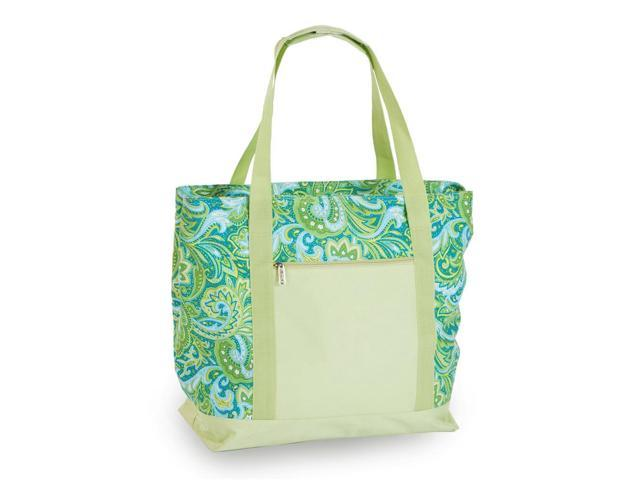Picnic Plus Psm-121Gp Lido 2 In 1 Cooler Bag- Green Paisley