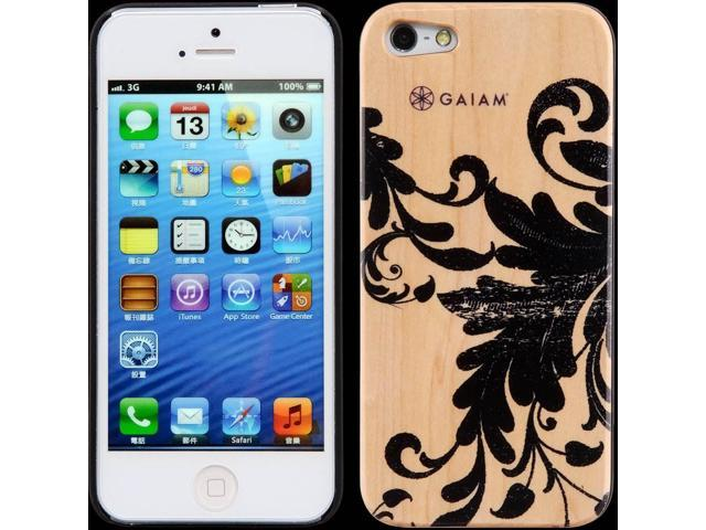 Gaiam iPhone 5 Wood Case - Filigree