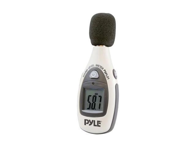 PYLE CAR AUDIO PSPL01 NEW HIGH PERFORMANCE DJ MINI DIGITAL SOUND LEVEL METER