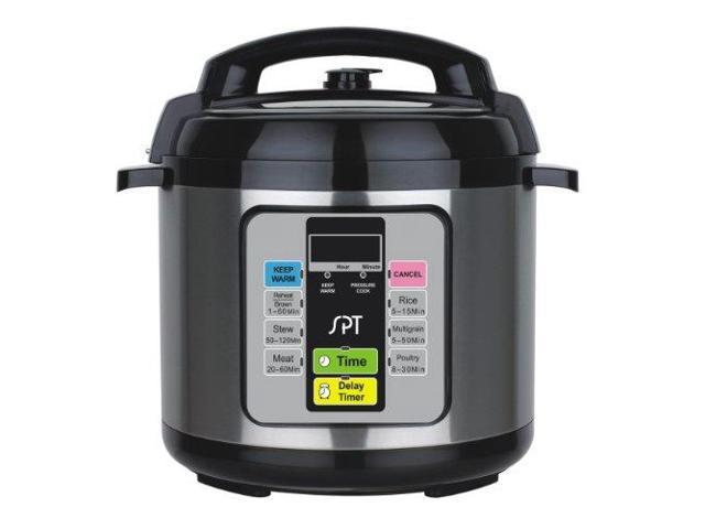 Sunpentown EPC-11A Black 6.5 Qt. 6.5-Quart Electric Pressure Cooker