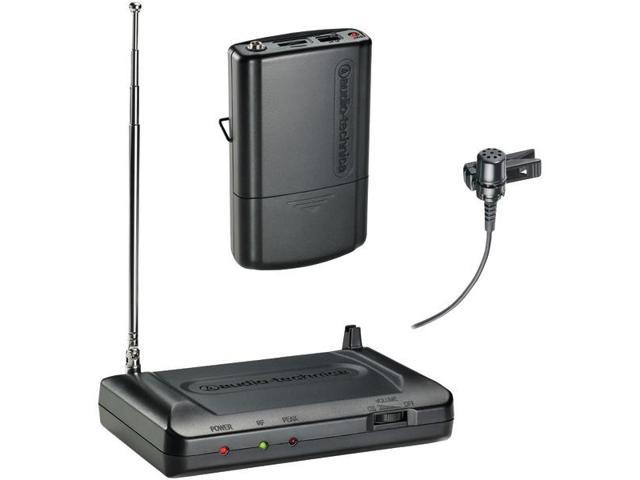 Audio Technica Atr-7100l-t8 Lavalier Vhf Wireless Microphone System (171.905mhz)