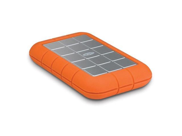 LaCie 2TB Rugged Triple Portable External Hard Drive USB 3.0 / 2 x Firewire800 Model LAC9000448 Orange