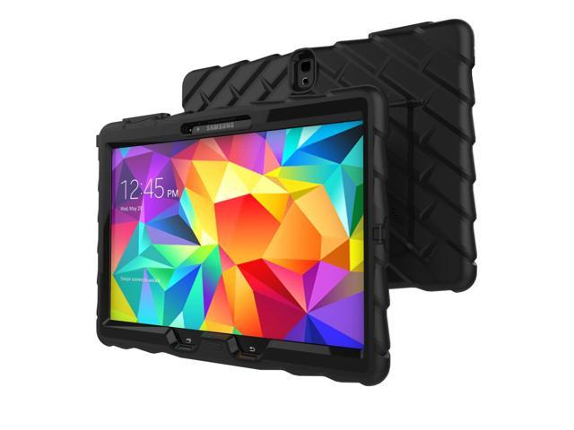 Gumdrop Cases Hideaway Stand for Samsung Galaxy Tab S 10 Rugged Tablet Case Shock Absorbing Cover Black/Black SM-T800