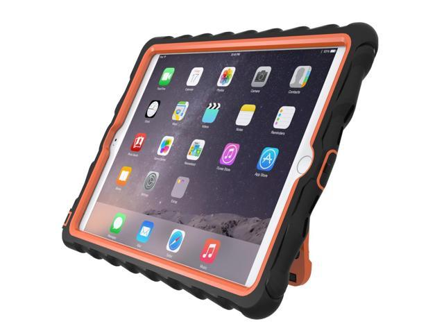 Gumdrop Cases iPadAir2 Custom Caseframe Hideaway with Stand 1 Pack, Black/Orange