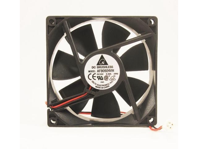 92mm 25mm Case Fan 24V DC 67CFM PC Computer Cooling Ball Brg 2wire 9225 274*