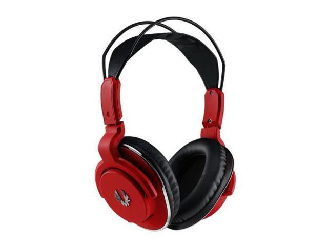 Fire Red Gaming Headphones Headset & Microphone