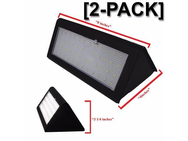 Super Bright 48 LED 800 Lumen Wireless Water Proof Solar Lights Outdoor  Radar Motion Sensor Lights