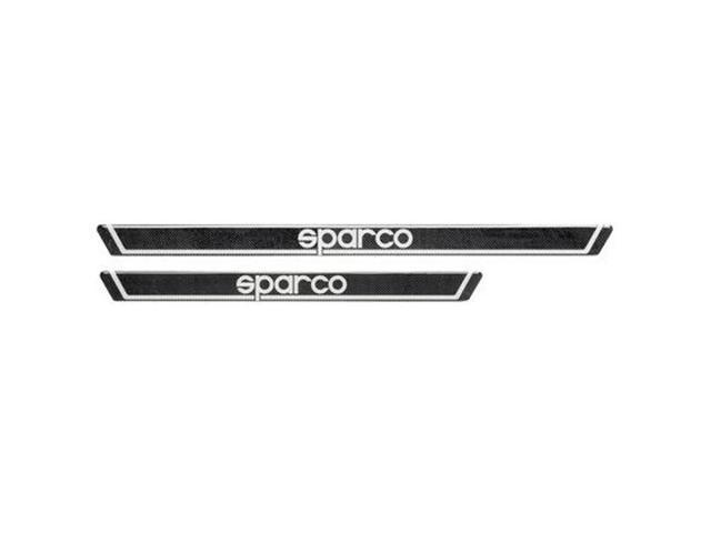 03770CARBON - Sparco Door Sills Carbon Look 605mm x 35mm Fits:UNIVERSAL  0 - 0