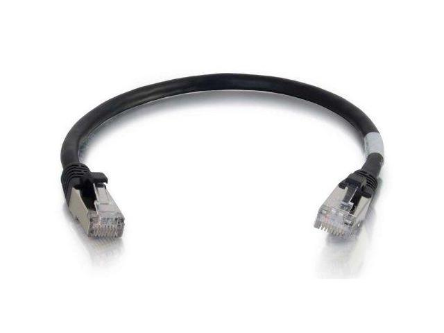 C2G Cables Cat6 Snagless Shielded Network Patch Cable, Black (00981)