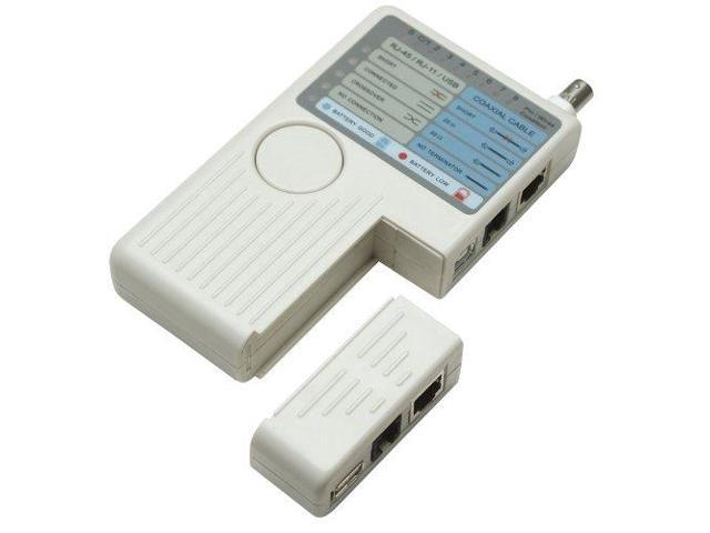 INTELLINET 4-IN-1 CABLE TESTER RJ-11, RJ-45, USB A