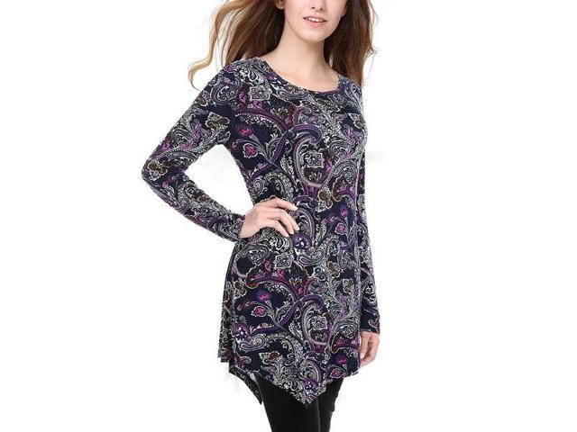 Women's Slim Fit Casual Lounge Jumper Jersey Blouse Size S-XXL