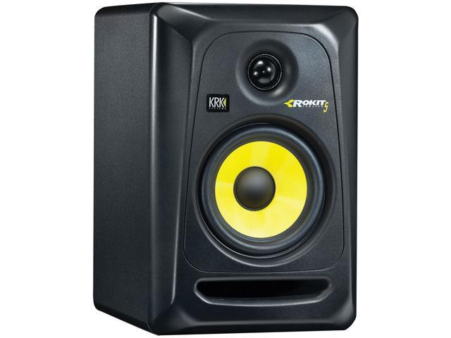 KRK RP5G3-NA Rokit 5 Generation 3 Powered Studio Monitor, Black, Single Speaker