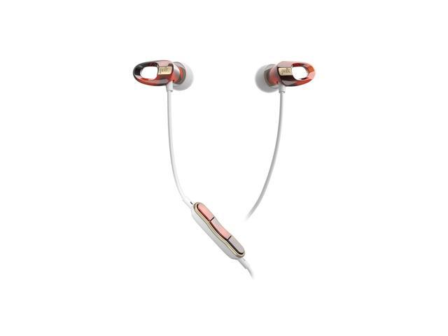 Polk Audio Nue Voe In-Ear Headphones with 3-Button Apple Control and Mic (Tortoise)