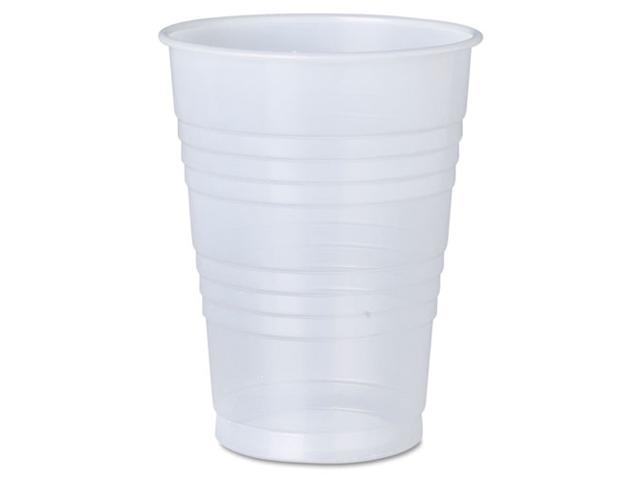 Solo Cup - Y10RL-0100 - Galaxy Translucent Cups, Plastic, 10 oz, Clear, 1500/Carton