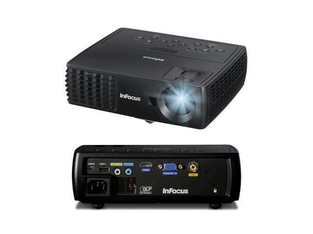 InFocus - IN1112A - InFocus IN1112A 3D Ready DLP Projector - 720p - HDTV - 16:10 - 165 W - NTSC, PAL, SECAM - 3000 Hour