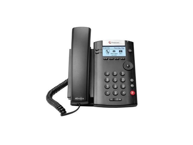 Polycom 2200-40450-025 2-line Desktop Phone PoE