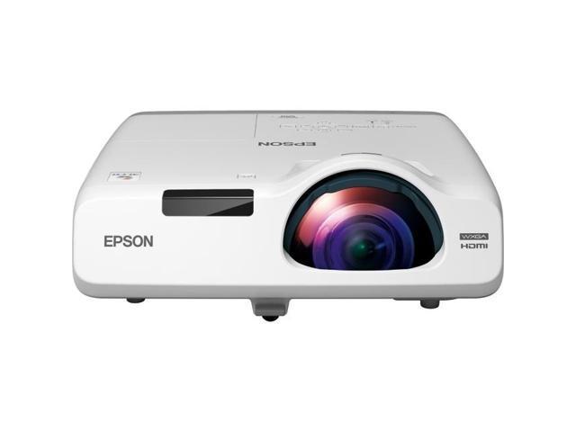 Epson - V11H671020 - Epson PowerLite 535W LCD Projector - HDTV - 16:10 - 1.6 - NTSC, PAL, SECAM - 1280 x 800 - WXGA -