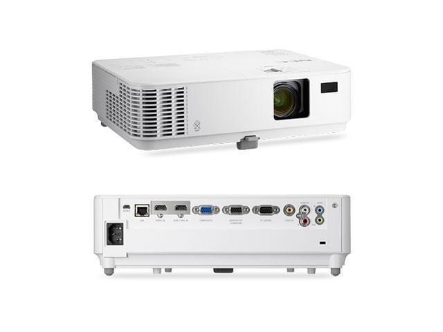 NEC NP-V332X 1080p Full HD Multimedia DLP Projector, 1920 x 1080, 10000:1, 3300 ANSI Lumens, HDMI&VGA, Built-in Speaker