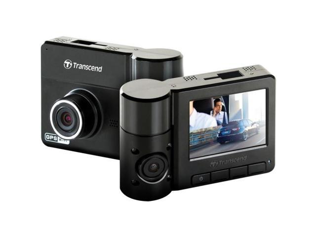 Transcend - TS32GDP520M - Transcend DrivePro 520 Digital Camcorder - 2.4 LCD - CMOS - Full HD - Black - 16:9 - H.264,