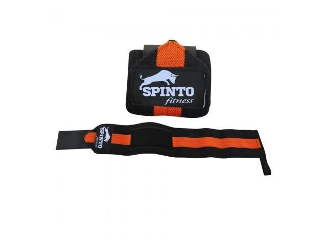 Spinto Fitness Wrist Wraps - Red & Black